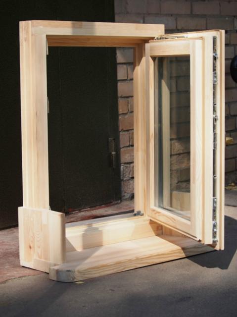 Технология производства деревянных евроокон.